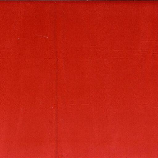 16.309.21 Velour fast rød 15 meter pr. rulle