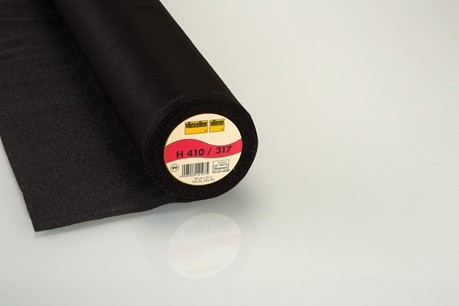 41.103.06 H410 Blødt strygeindlæg med stabiliserende tråde 25 meter pr. rulle