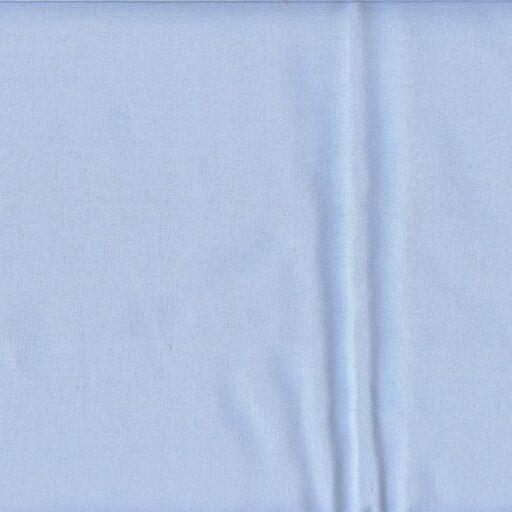 16.155.15 Sanforiseret bomuld lysblå 12,5 meter pr. rulle