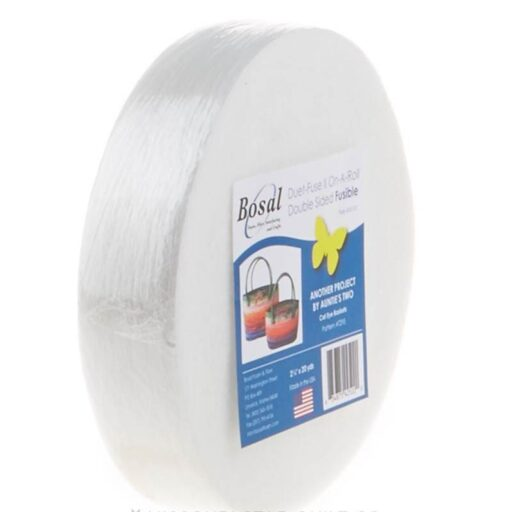 67.4252.20 Bosal Duet-fuse II on a  roll - Double sided fusible pr. rulle