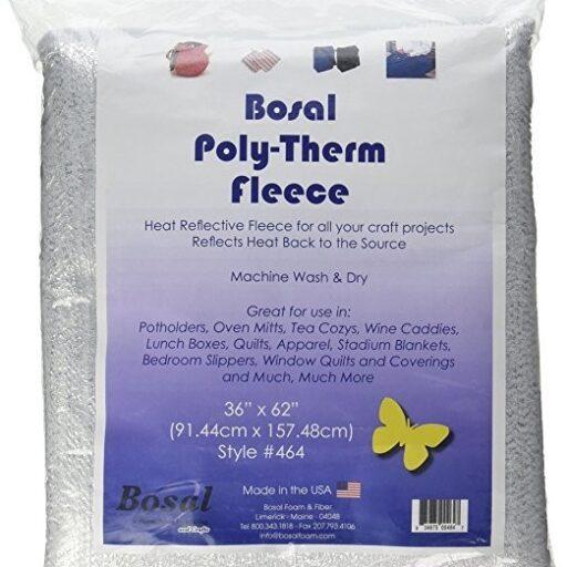 "67.464 Bosal poly-therm fleece 62 x 1 yard"""
