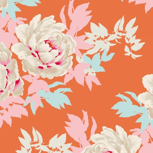 100027 Tilda.Sunkiss collection -Beach-peony-ginger