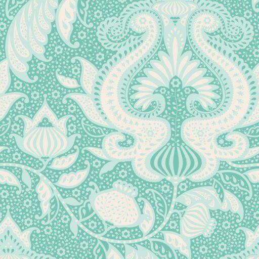 100033 Tilda.Sunkiss collection -ocean-flower-teal