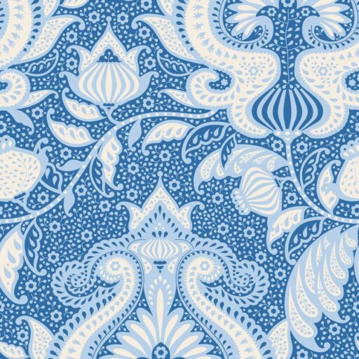 100034 Tilda.Sunkiss collection -ocean-flower-blue