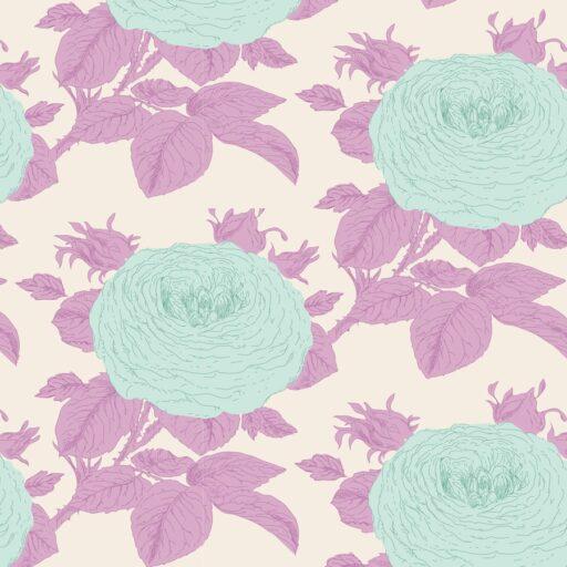 100037 Tilda.Sunkiss collection -grandmas-rose-lilac