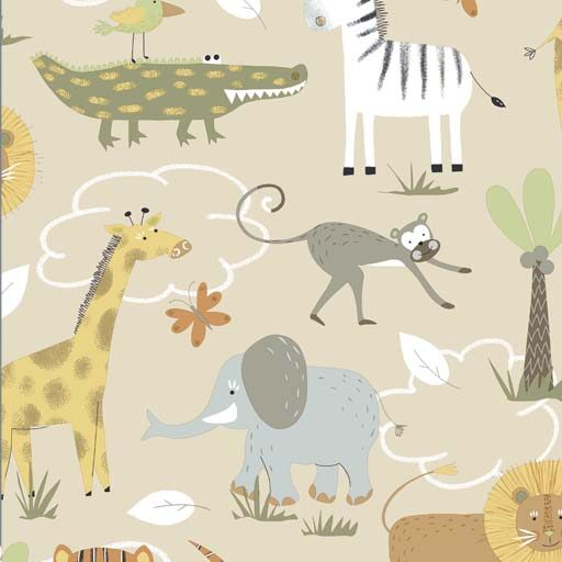 72.500.78 Organic safari gots 140 cm bred 15 meter pr. rulle