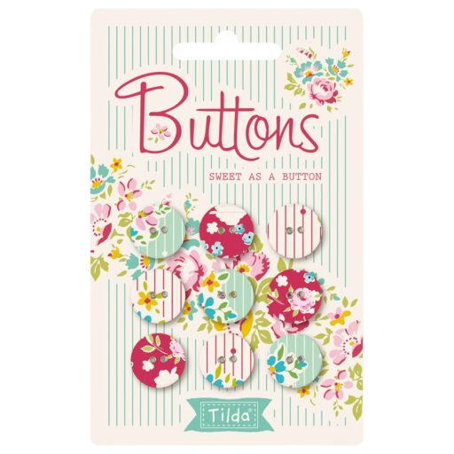 400016 Tilda. Sweet as a button 15 mm Applebutter collection