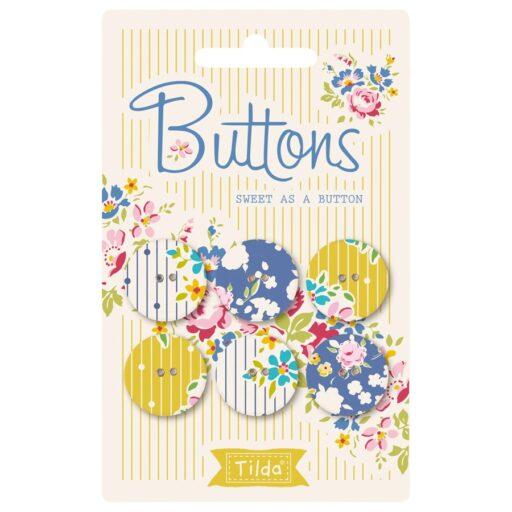 400017 Tilda. Sweet as a button 20 mm Applebutter collection
