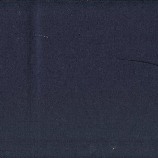 16.155.10 Sanforiseret bomuld  mørkblå 25 meter pr. rulle