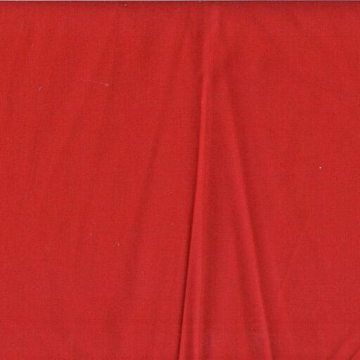 16.155.21 Sanforiseret bomuld rød 25 meter pr. rulle