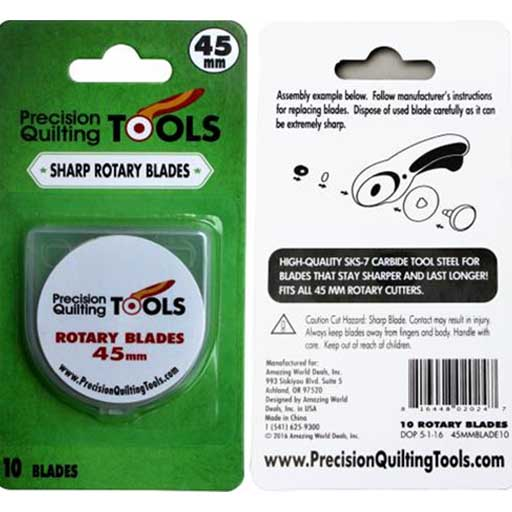 blade45 Precision Rotary Cutter Replacement Blades 45 mm