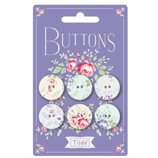 400028 Old Rose Buttons 20mm