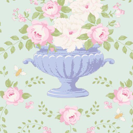 100236 Flowerbees Teal