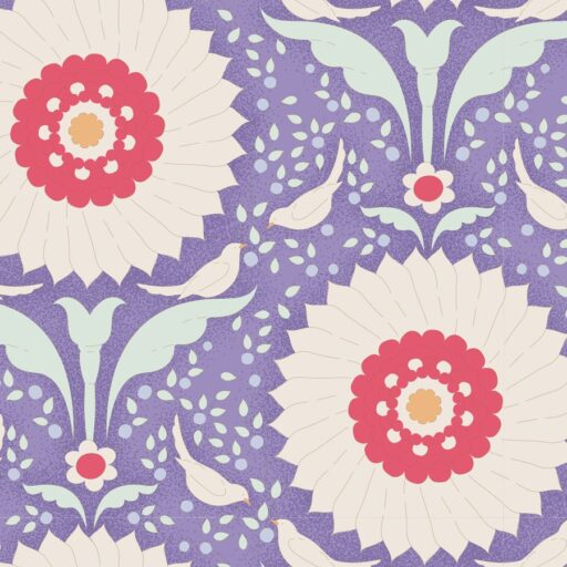 100243 Ringflower Blue - Tilda Bon Voyage