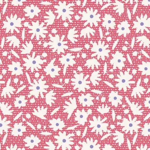 100260 Paperflower Red - Tilda Bon Voyage