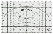SKW98 - QCR Mini Ruler - 1 pcs.