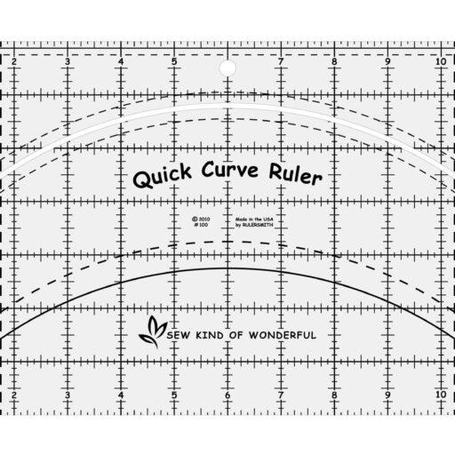 SKW100 - QCR Curve Ruler - 1 pcs.