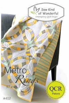 SKW402 - Metro Rings Pattern - 1 pcs.