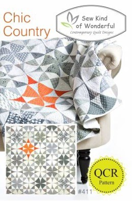 SKW411 - Chic Country Pattern - 1 pcs.