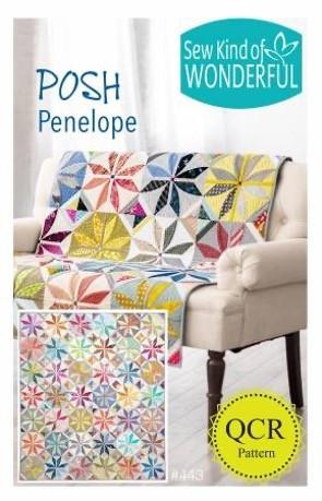 SKW443 - Posh Penelope Pattern - 1 pcs.