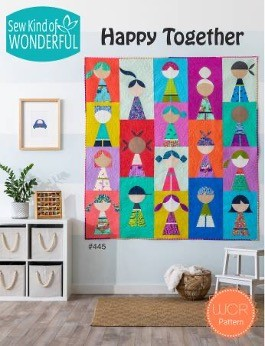 SKW445 - Happy Together Pattern - 1 pcs.