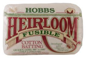 40.115.02.Q Hobbs Heirloom® Fusible cotton blend pr. stk.