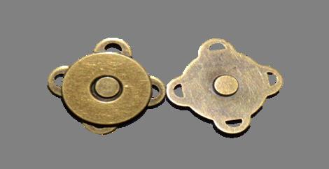 182.1 Magnet til lukning gold 10 stk. pr. pose
